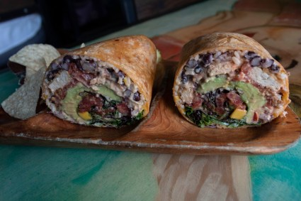 vegan wraps in Charleston