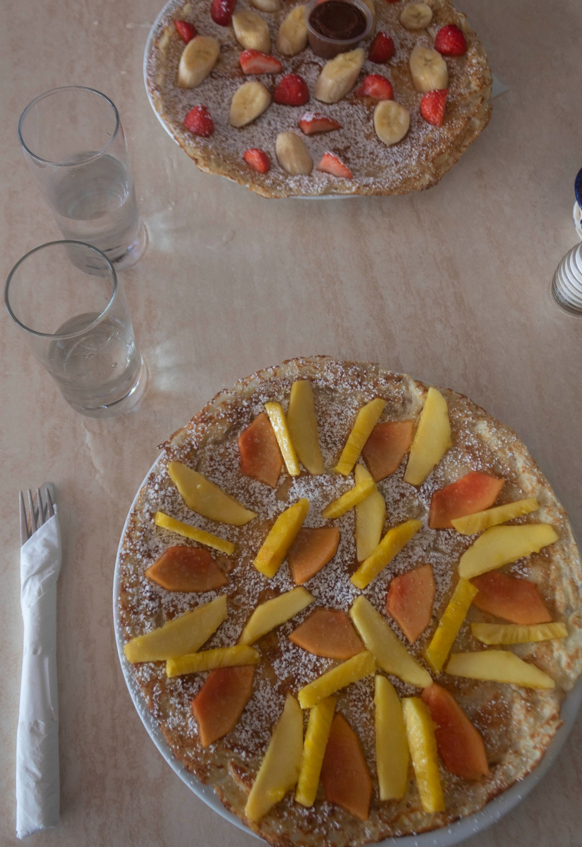 Linda's Dutch Pancakes - food and where to stay in Aruba