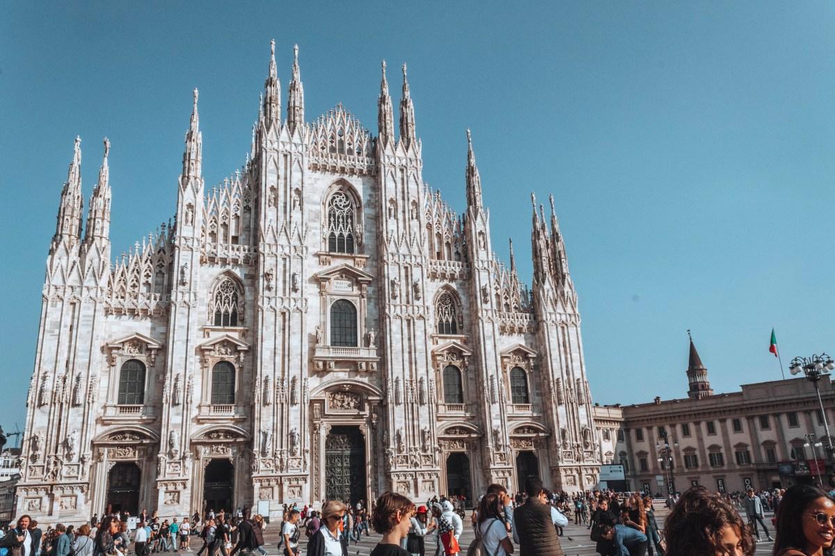 Milan Cathedral - Milan Lake Como weekend trip