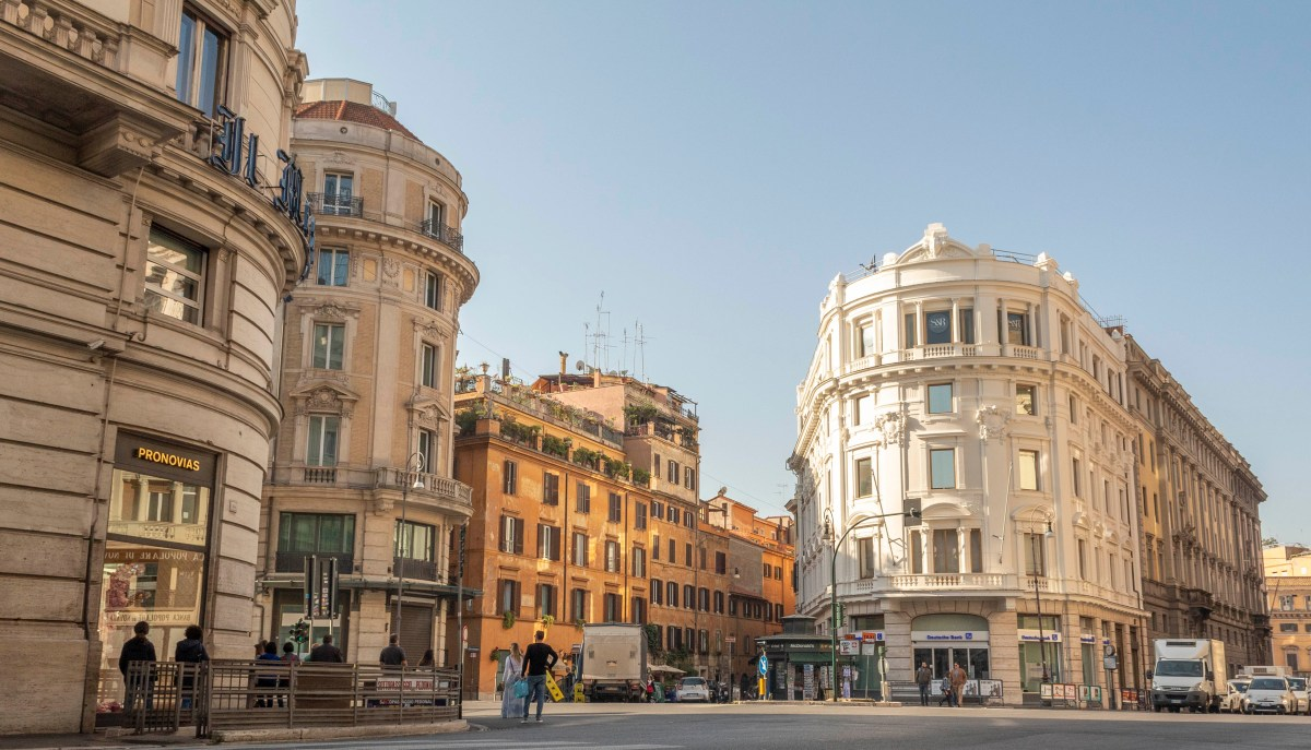 buildings in Rome Italy