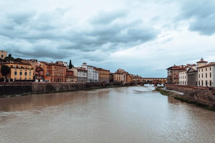 Ponte Vecchio Street Florence