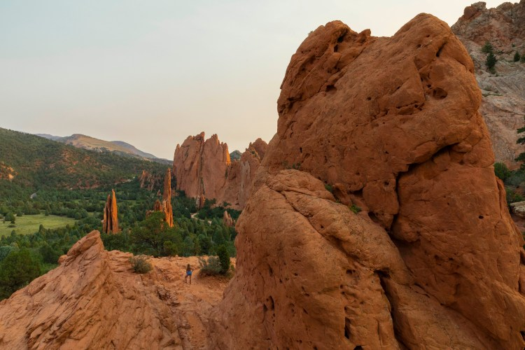 Garden of the Gods at Sunrise- Colorado