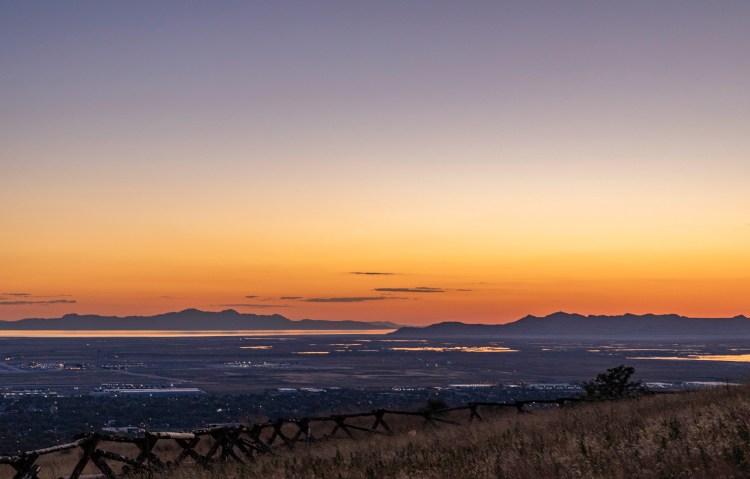 summer in Utah sunsets