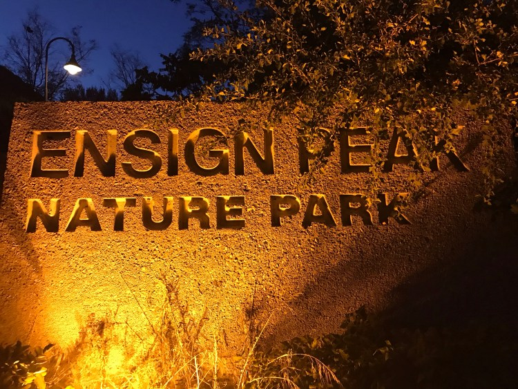Ensign Peak Nature Park, Park City, Utah in Summer
