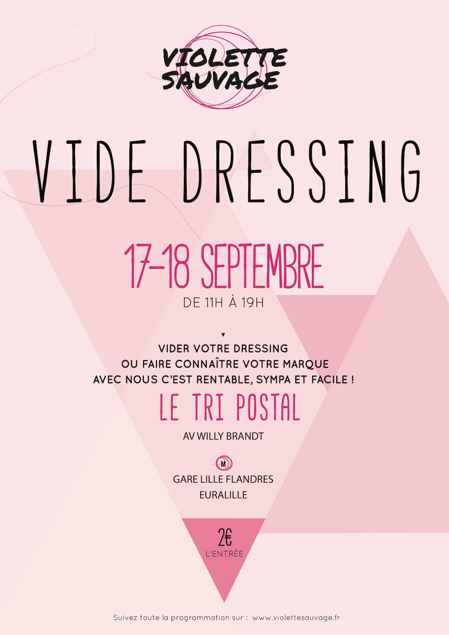 Rendez vous shopping au vide dressing Violette Sauvage à