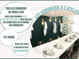e22160cb9a4 Fabriquez vos cosmétiques naturels chez Mademoiselle Biloba à Lille ...