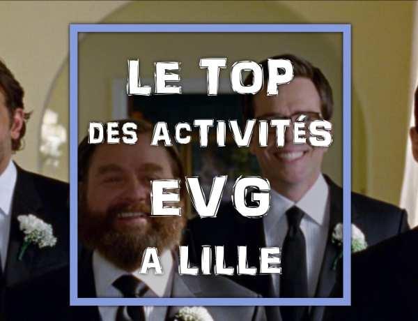 Top des activités pour un enterrement de vie de garçon à Lille