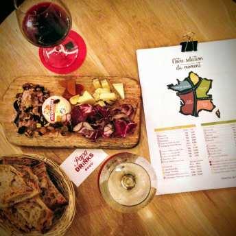 Bar à vin et planches Lille