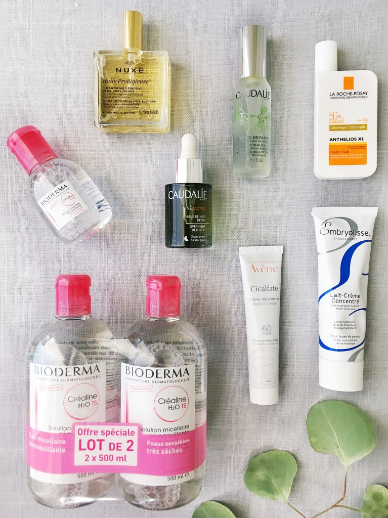 Beauty Products to bring back from France