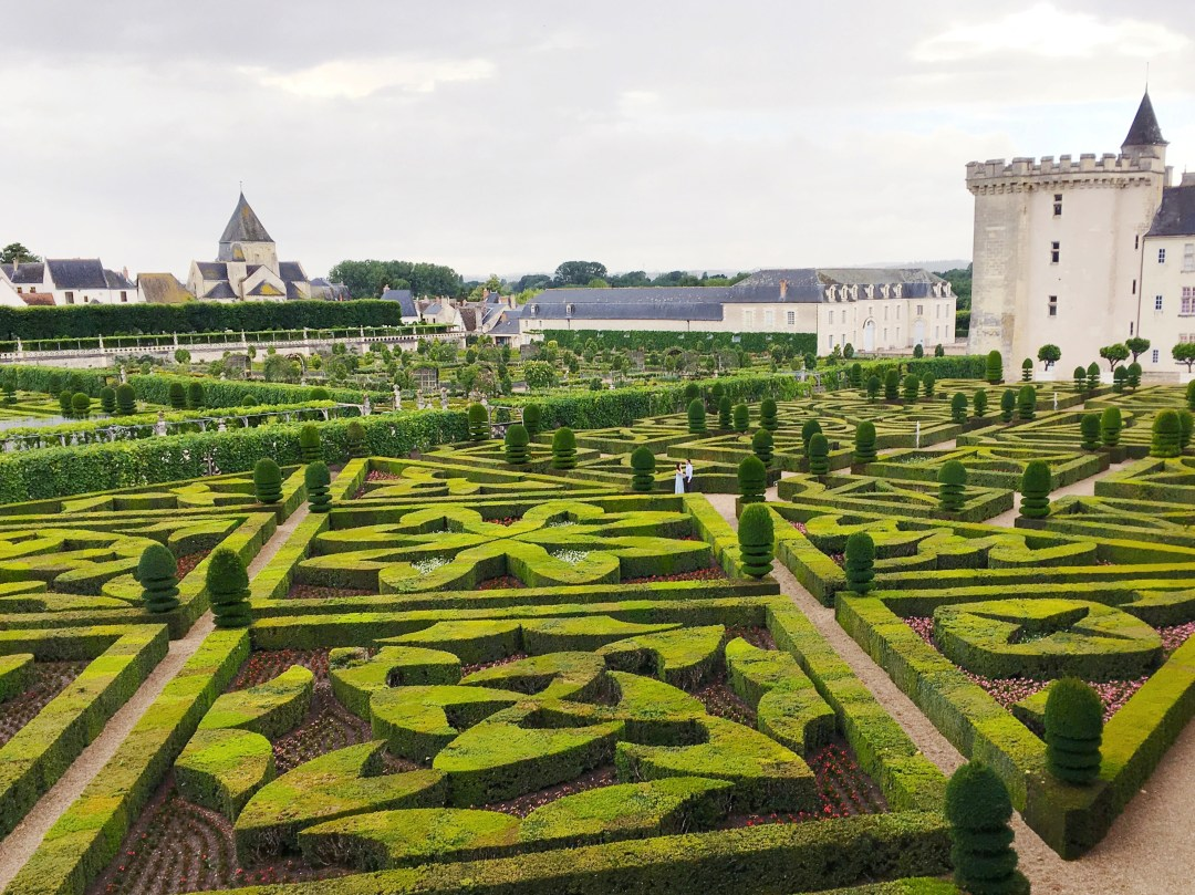loire valley chateau de villandry
