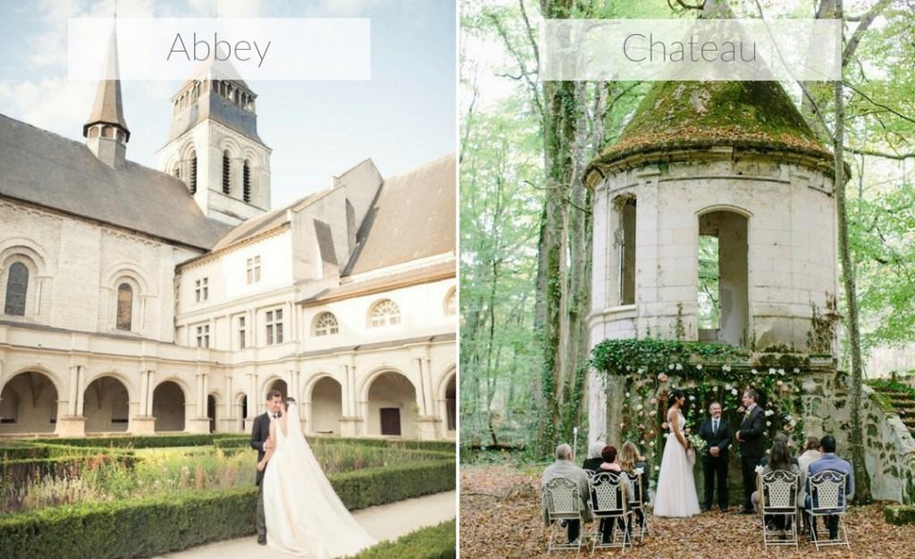 wedding venue - abbey or chateau