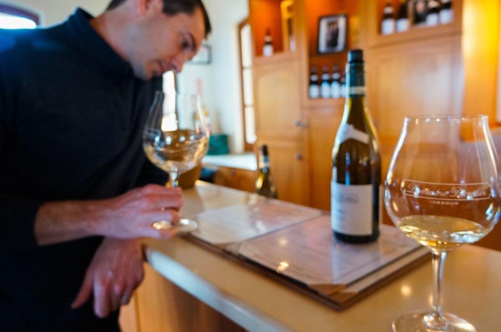wine tasting at drouhin winery oregon