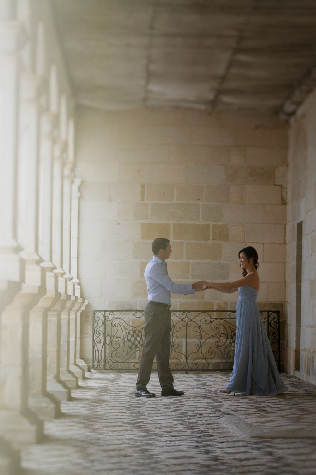 Engagement Session at Chateau de Villandry