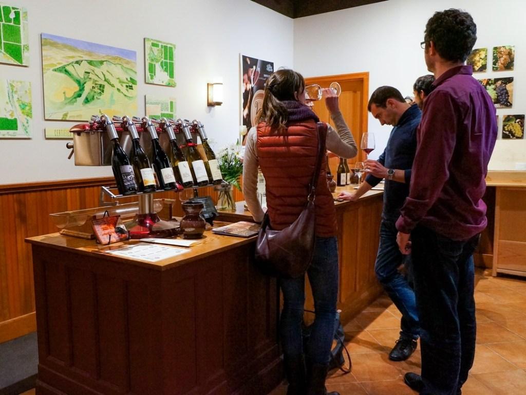 wine tasting near portland
