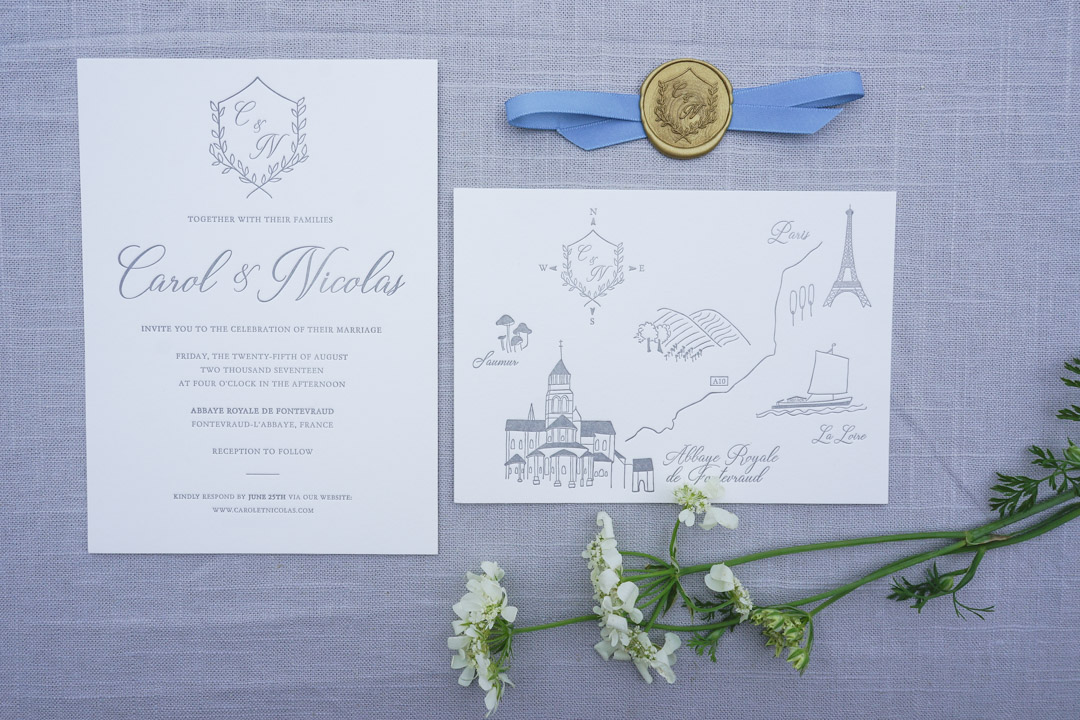 Parts Of Wedding Invitation: Our Wedding Invitations Part 2: Color Palette, Paper Types