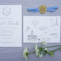 Our Wedding Invitations Part 2: Color Palette, Paper Types And Letterpress Printing