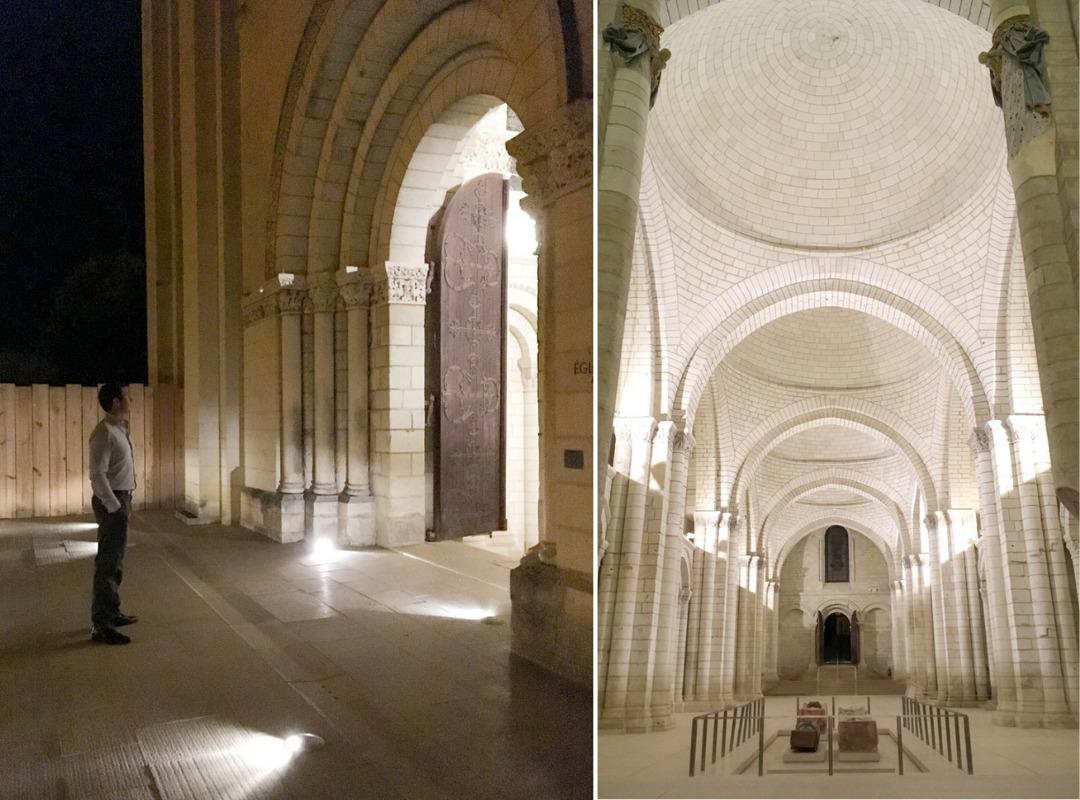 Night Tour of Fontevraud