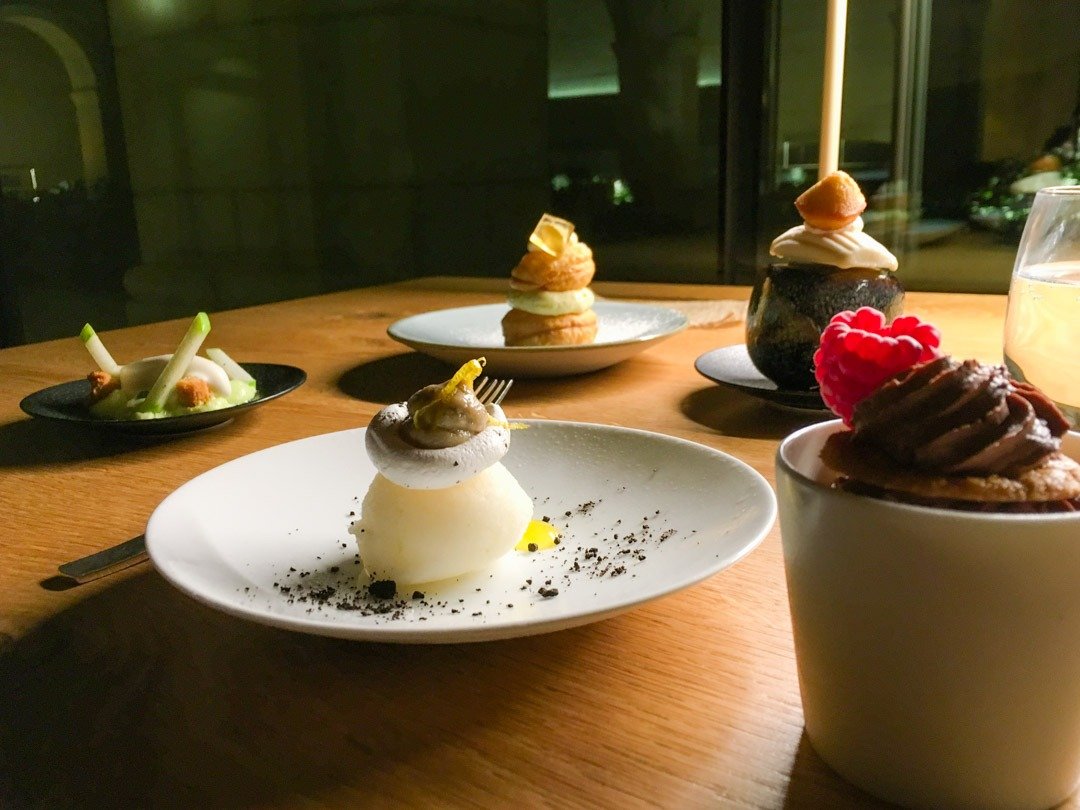 Le Restaurant at Fontevraud - Dessert Le defile des religieuses