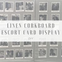 Escort Card DIY For Our Destination Wedding in France