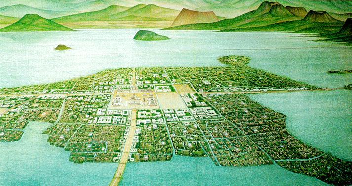 Aquaculture : the chinampas