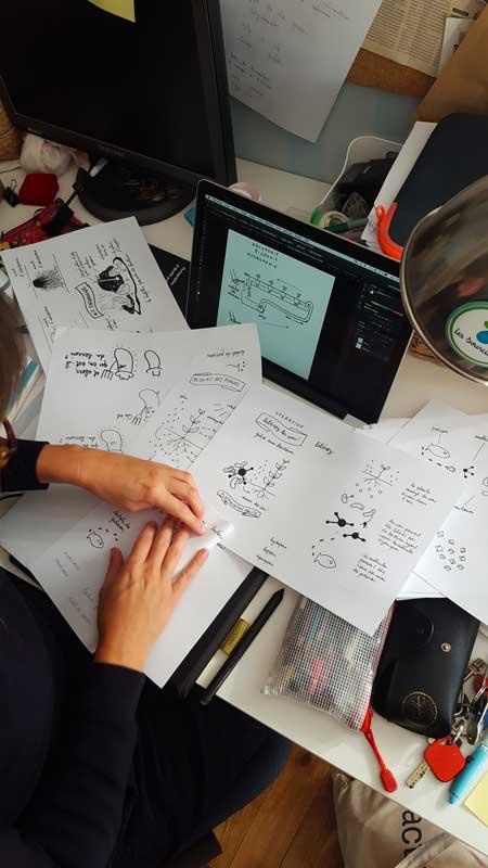 Livre des Sourciers Hydroponie - maquette des dessins