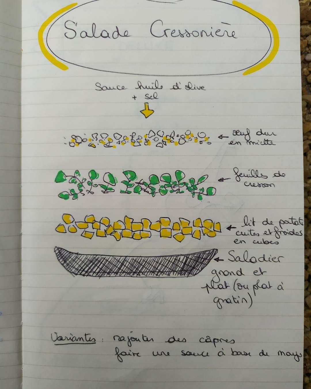 Salade cressonnière - les sourciers