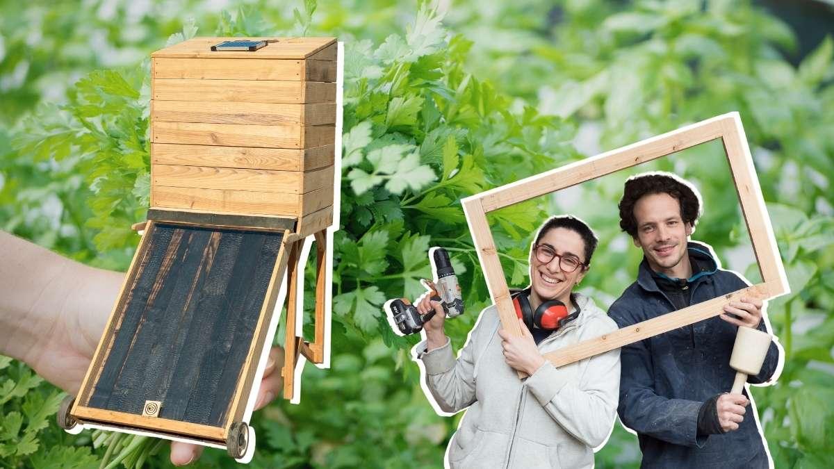 comment fabriquer un séchoir solaire