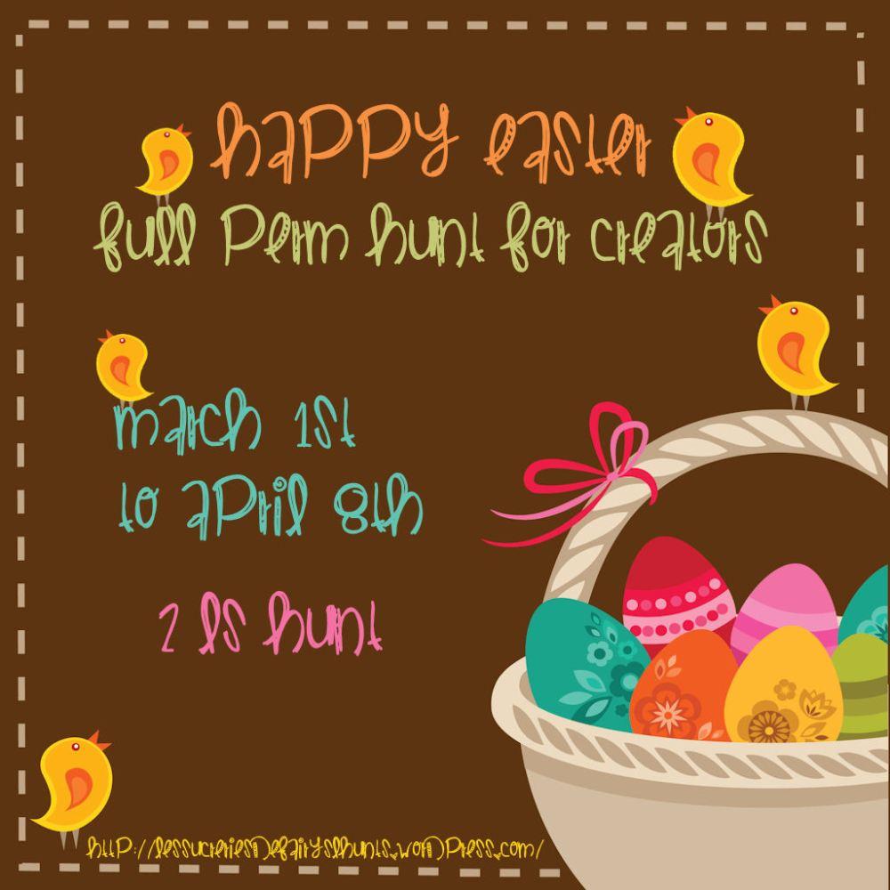 Happy Easter Full perm hunt :)