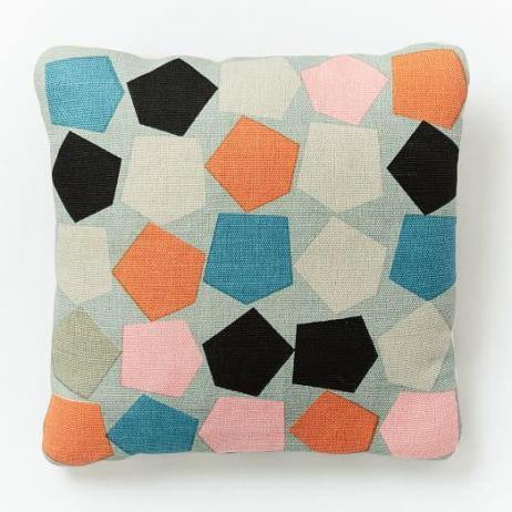West Elm Dusen Dusen Pent Pillow
