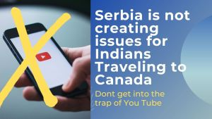 Read more about the article Are students facing problems in Serbia while layover for Canada ?