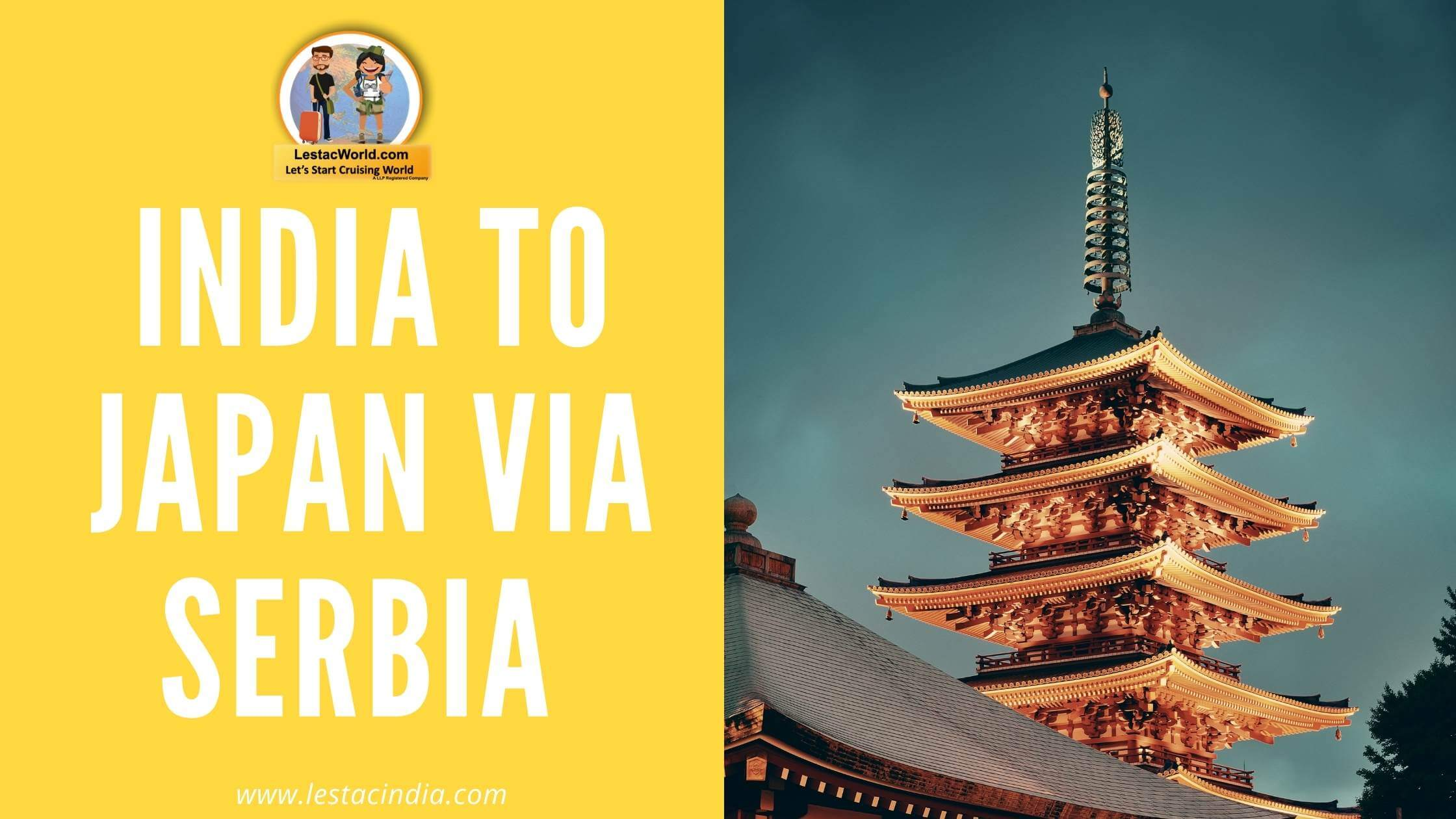 Read more about the article India to Japan Via Serbia!
