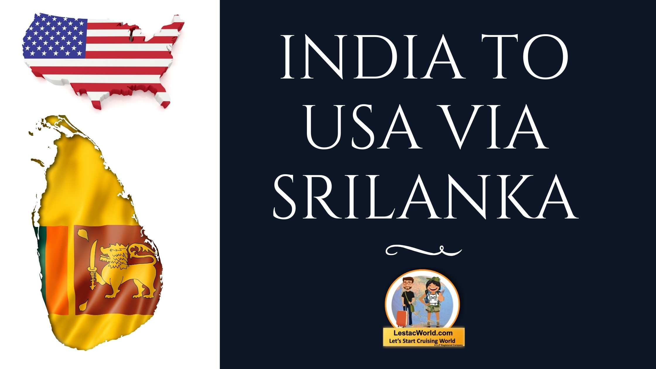 Read more about the article India to USA via SriLanka