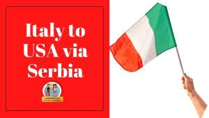 Read more about the article Italy to USA via Serbia