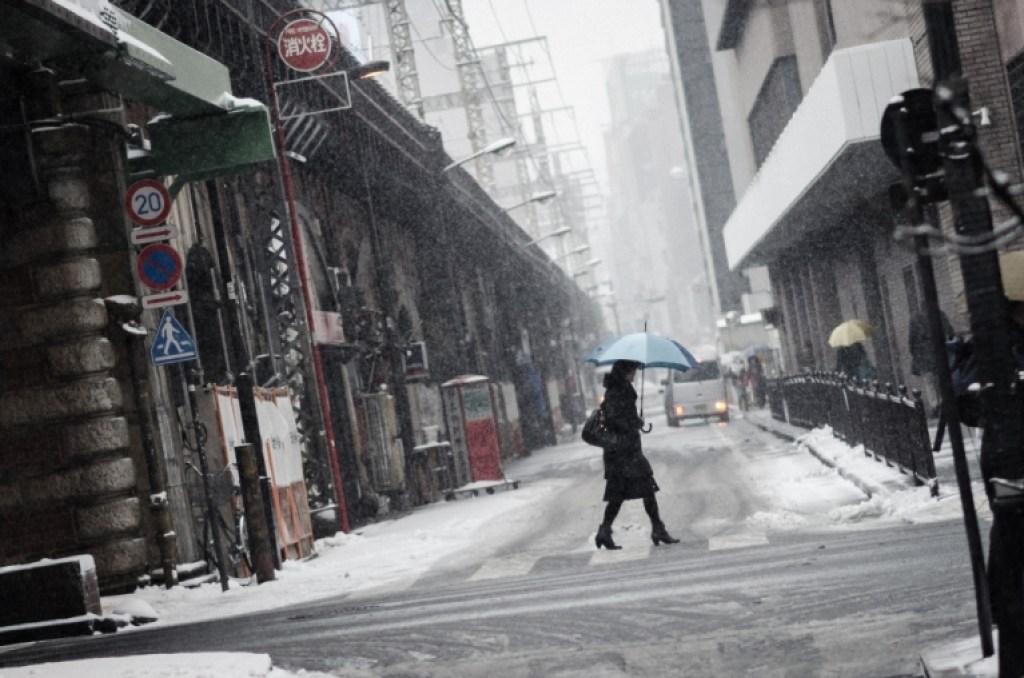 Photo of Tokyo snow