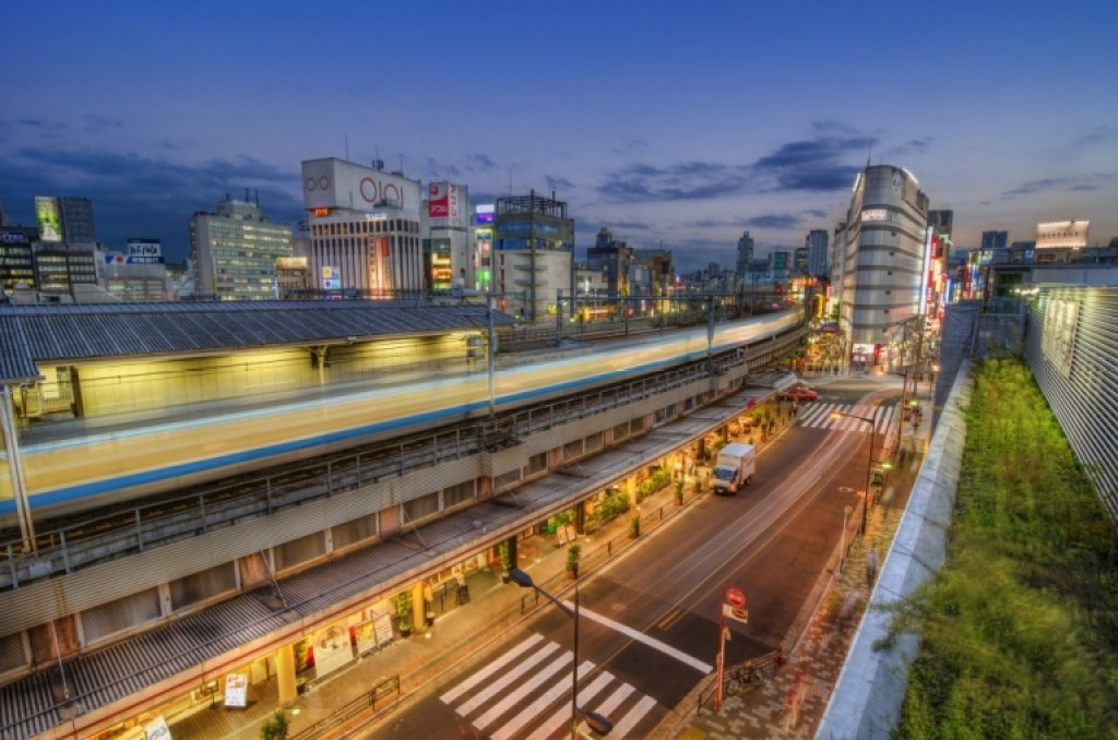 Photo of Ueno Station in Tokyo