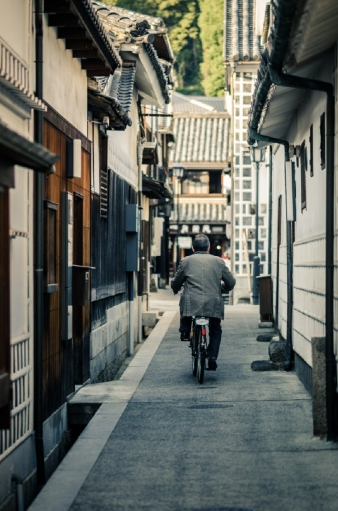 bike ride through bikan alley