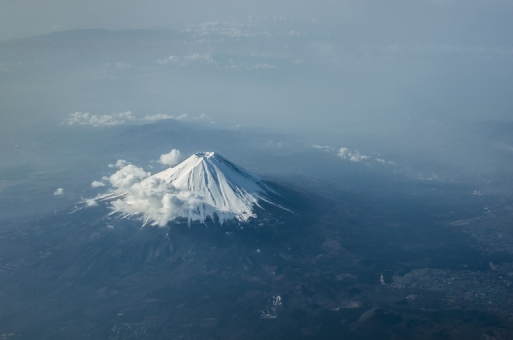 Mt Fuji From the Air