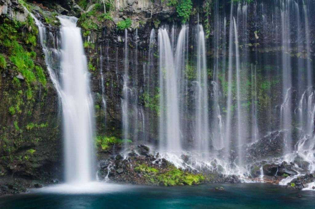 Photo of Shiraito Falls in Shizuoka
