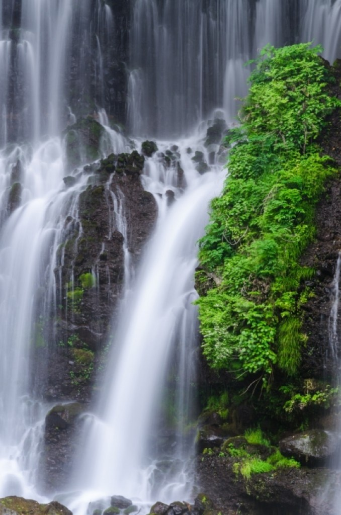 Photo of waterfall in Japan