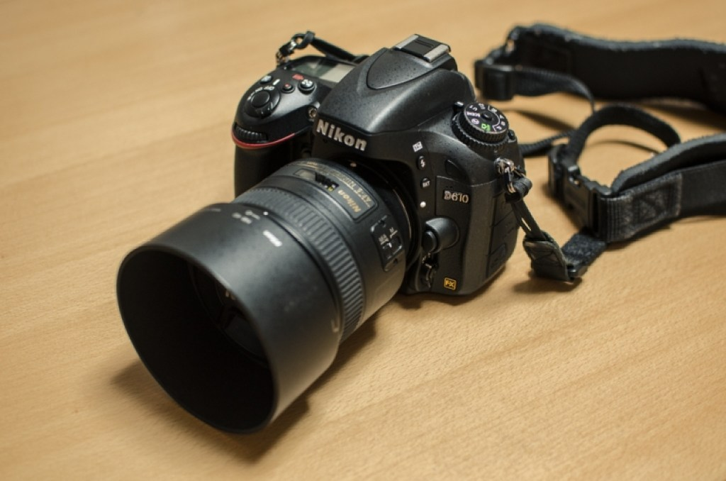 Nikon D610 with 85mm