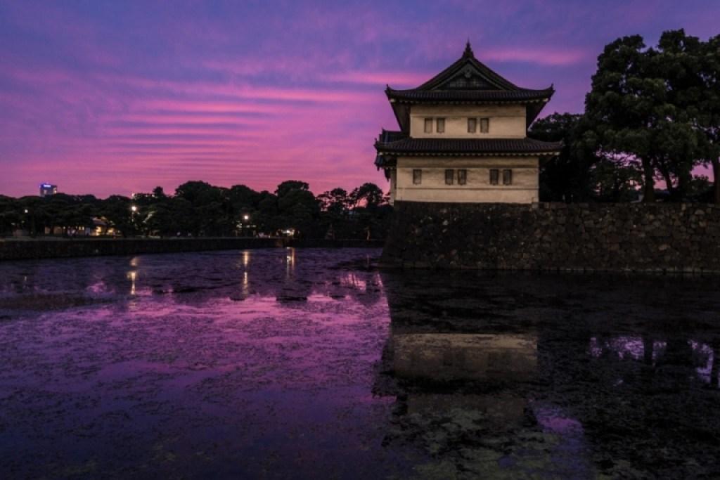 photo of Tokyo dusk