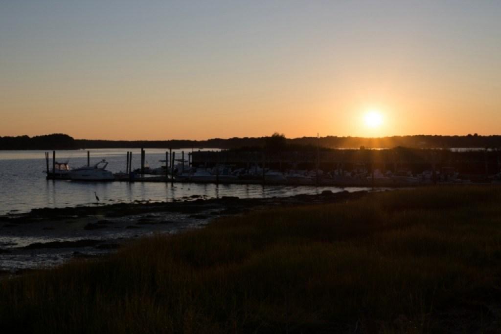 Sunset Newicks Before