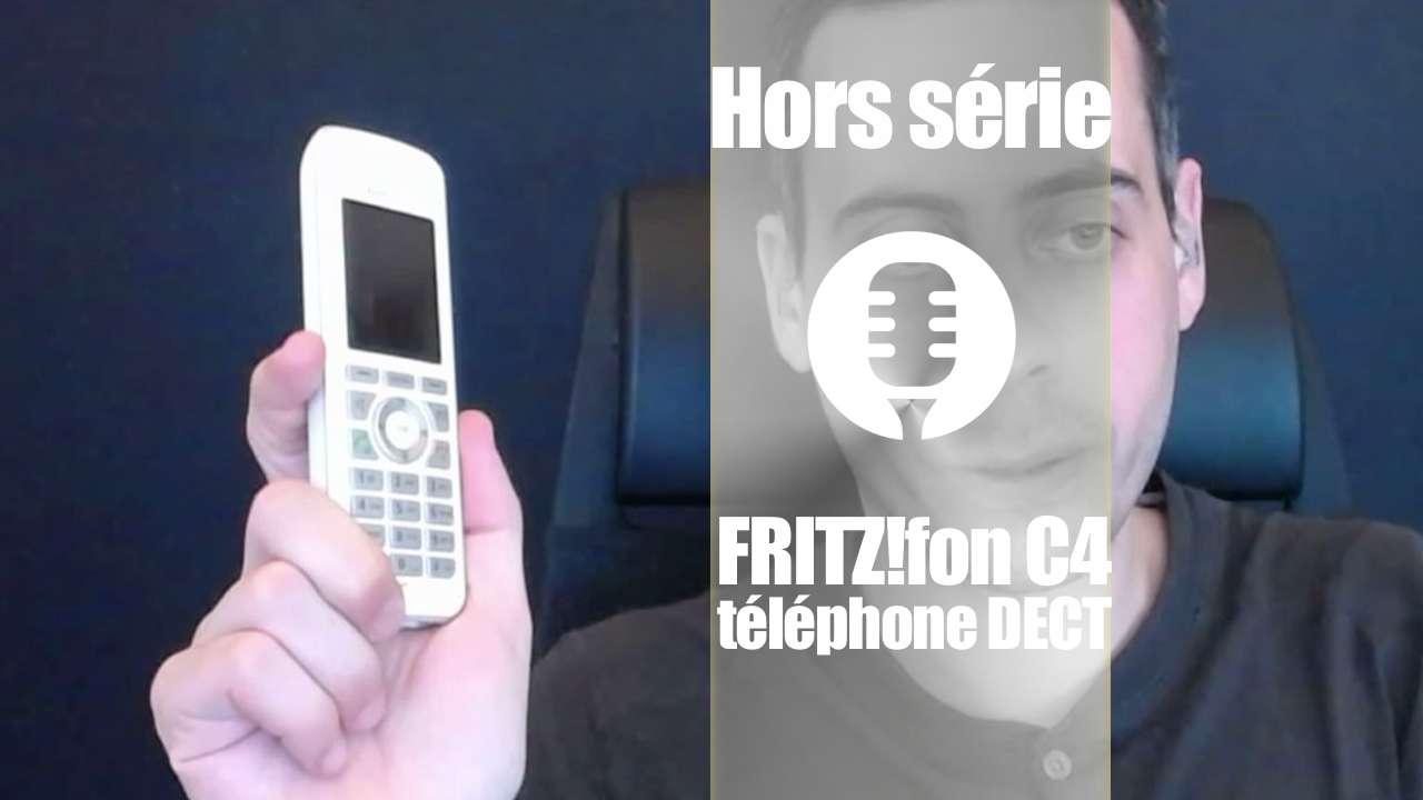 Fritz!fon C4, un DECT à la sauce AVM (test, présentation)