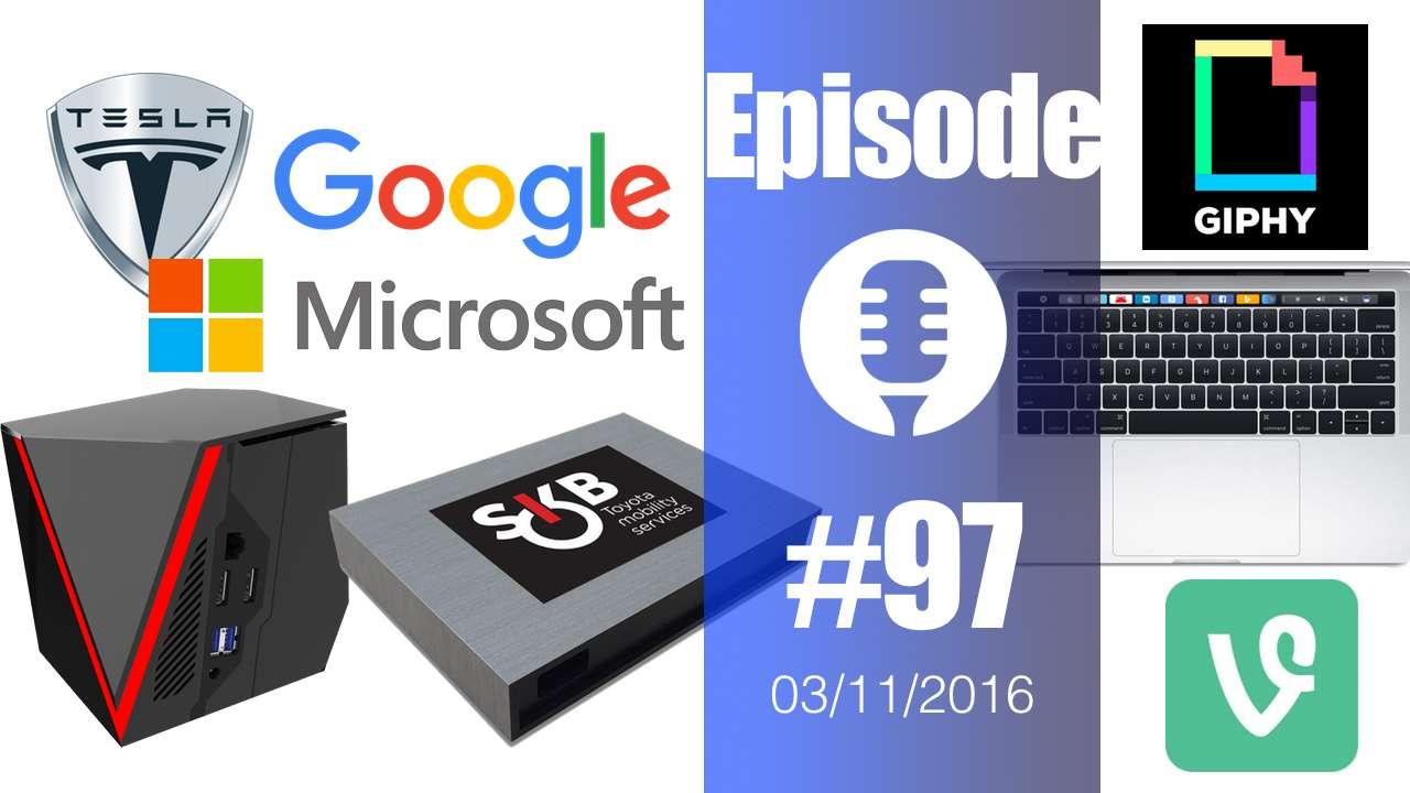 #97: Macbook, Shadow, Smart Key Box, URL Emoji, Giphy, Vine, Powerwall 2, Hyperelastic Bone,…