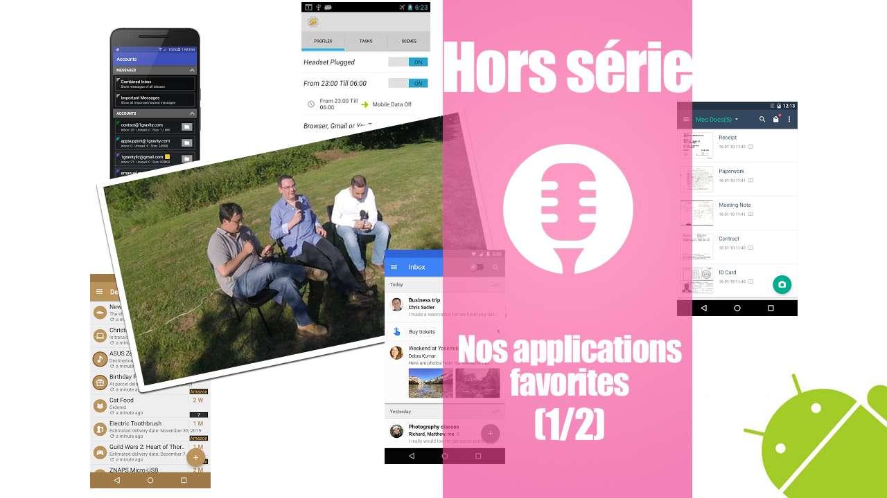 Nos applications favorites (1/2)