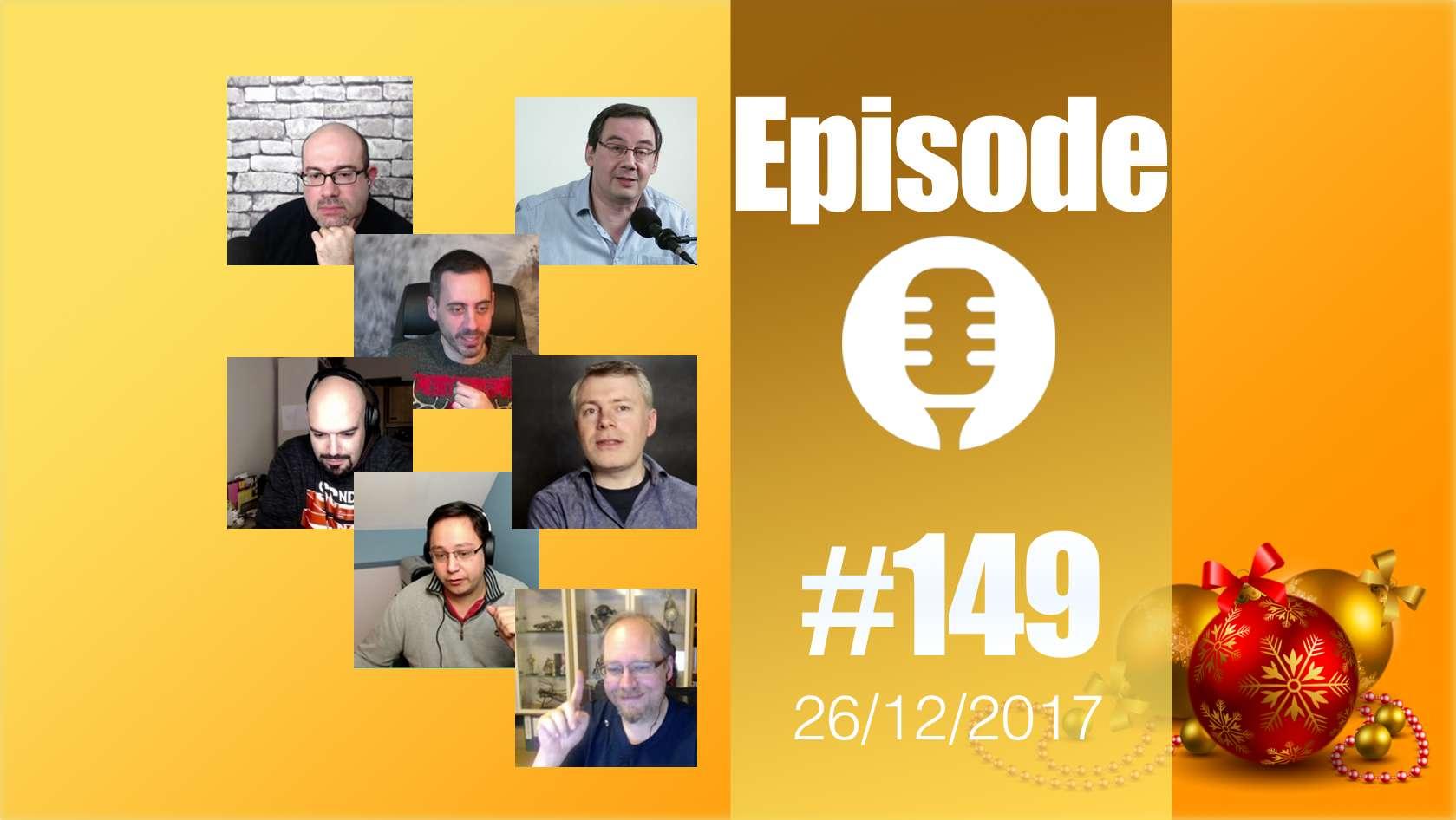 #149: Episode de fin d'année (en direct)