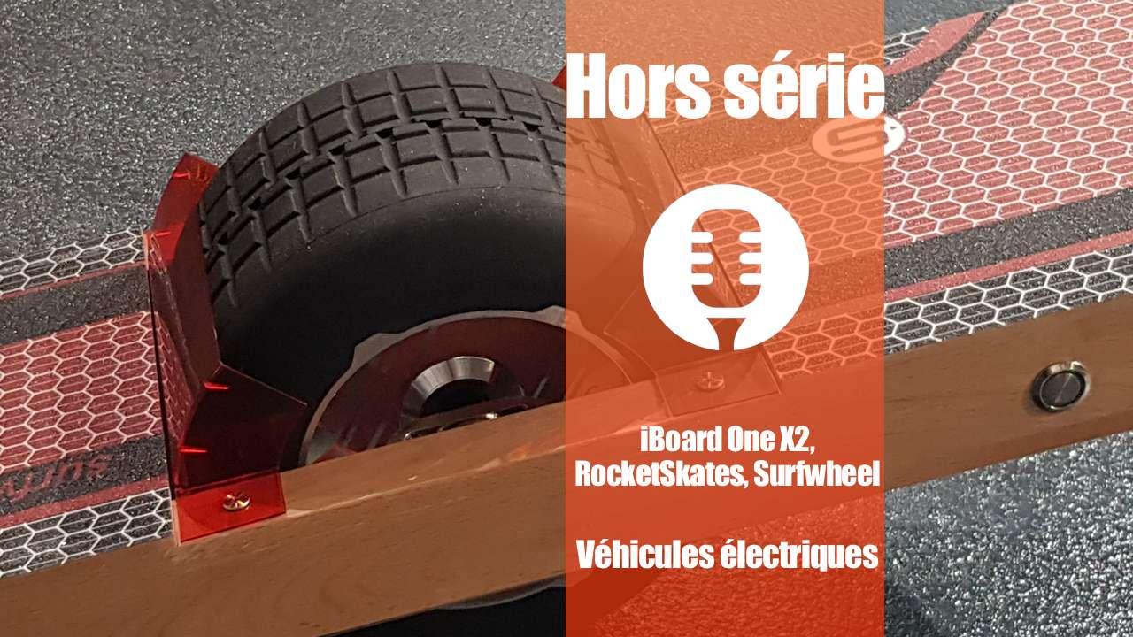 Véhicules électriques: Surfwheel, iBoard, RocketSkates