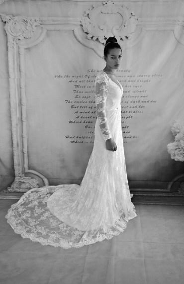 nettoyage robe de mariée droite traîne dentelle morphologie