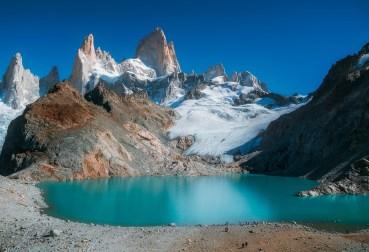 nettoyage robe lune de miel patagonie lac