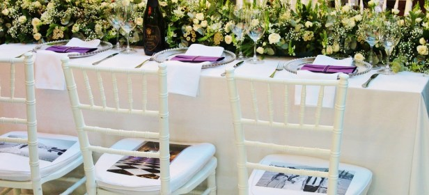 décoration de table nettoyage robe mariage fleurs
